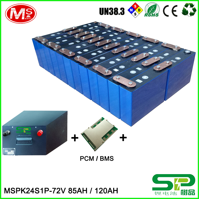 Deep cycle life Lithium battery pack with smart BMS for off-grid solar power system