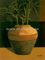 Still Life Oil Paintings Famous Artist Bamboo Oil Paintings