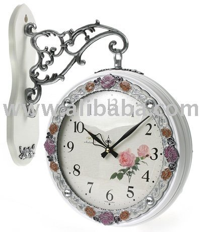 Double Side Clock,Wall Clock