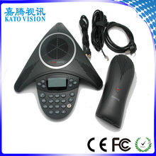 USB plug and play, no need driver, LCD Menu Display conference microphone