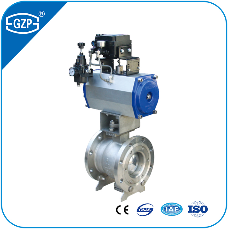 High Mpa Trunnion Ball Valve with Pneumatic Operation