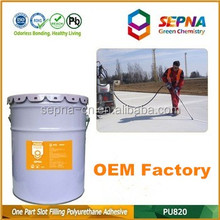OEM professional-grade cement color filling cracks UV stable Polyurethane driveways chemical glue