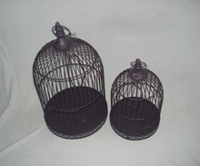 Cheap Metal Decorative bird cage for garden decorations