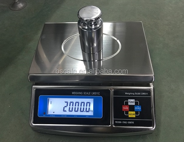 LED/LCD Display Electronic Table Top Weighing Scales