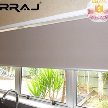 RRAJ Solar Power folding Balcony Roller Shades