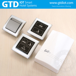 433MHZ DND hotel touch panel doorbell