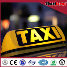 top taxi advertising light box for bobang