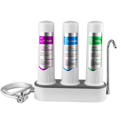 portable water purifier and ro machine for family