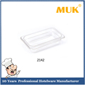 MUK hot selling hotel restaurant 1/4 cheap clear and smooth surface food pan
