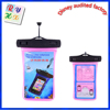 Custom waterproof pvc bag/mobile case/cellphone pouch