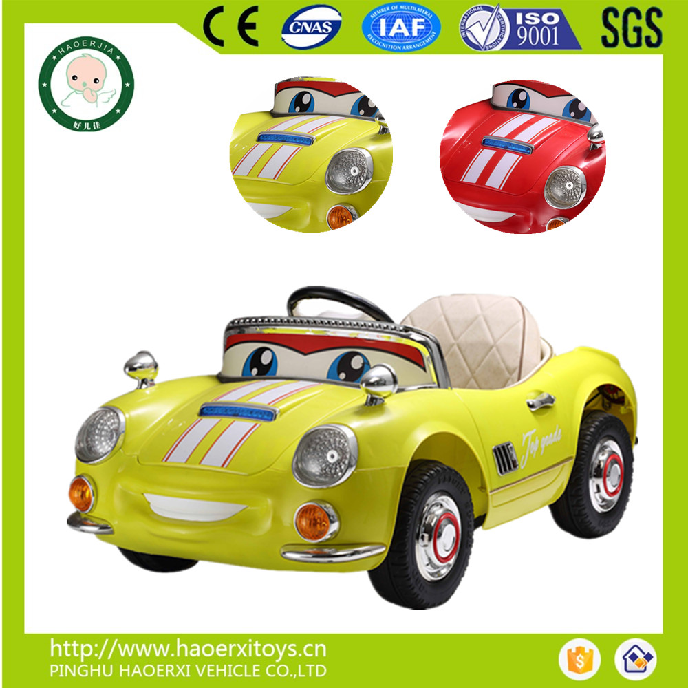 wholesale ride on battery operated kids baby car with remote control