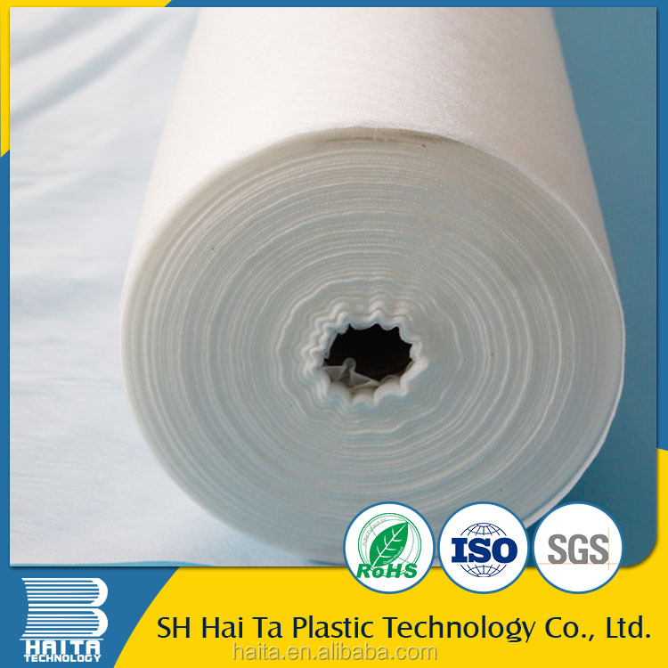 China non woven polypropylene cold water soluble fabric for computer embroidery