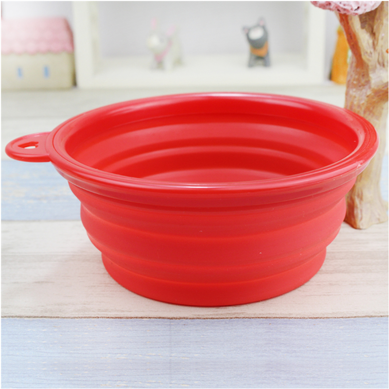 New Products 2016 Top Quality Cheapest Silicone Folding Pet Dog Bowl