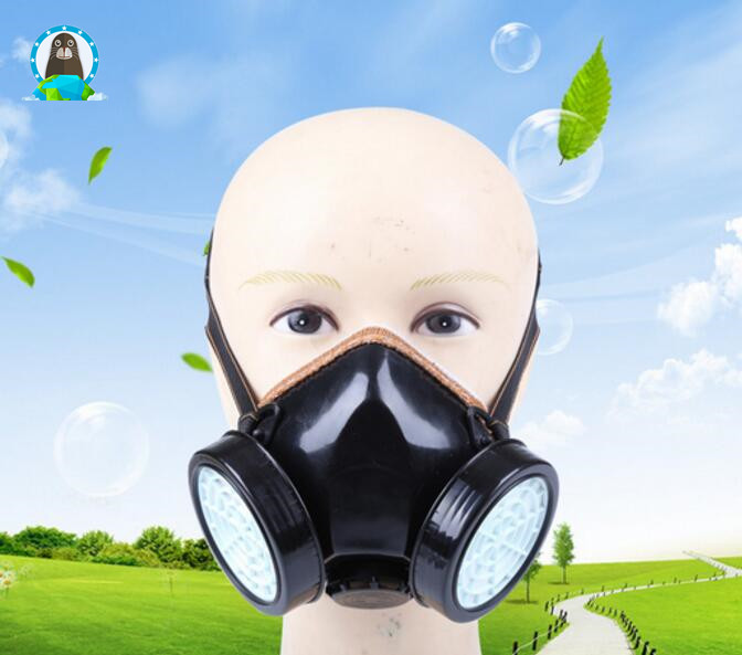 Factory dust Double cans dust mask