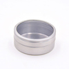 Alibaba China Customized Round Plain Metal