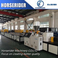 High quality wood plastic composite machine / wooden plastic board machine / plastic wood machine in suzhou