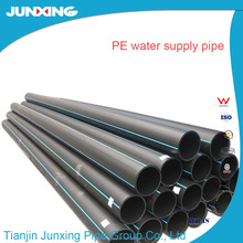 ISO4427,DIN 8074,BS-6437,GB/T 13663-2000 Standard and PE Material 450mm pe pipe