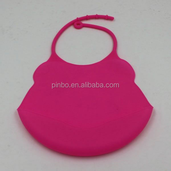 Disposable Custom Waterproof Silicone Baby Bib for Restaurant
