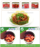 380g canned spiced pork cubes chinese manufacturer