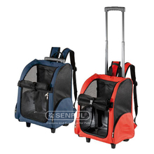 Backpack pet trolley, pet carrier, Wheel dog trolley