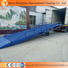 2016 New adjustable mobile hydraulic container dock loading ramp for sale