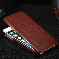 For iphone 5c case cover, New arrival flip leather case for iphone 5c Crazy Horse Leather Top Flip Leather cover for iPhone 5c