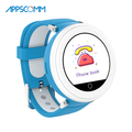 APPSCOMM 2018 Smart Watch GPS Tracker Wristwatches Kids Safety Tracking Smart Watch Phone for Child