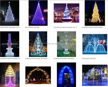 Acrylic Led Lighting Christmas Tree