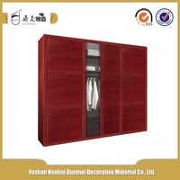 Classical wood grain sliding closet door