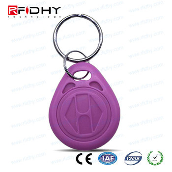 UID Changeable Thermal Printed Numbers 125 KHz RFID Keyfob