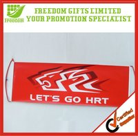 Promotional Logo Printed Fan Colorful Hand Held Banner