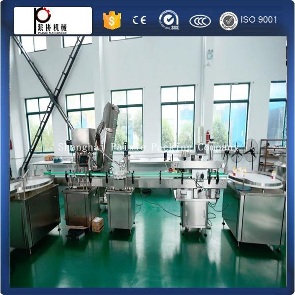 Shanghai factory CE standard cooking/coconut /edible oil bottle filling machine with cheap price