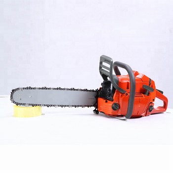 5800 58CC 2.4KW gasoline chainsaw /gasoline sharp wood cutting chain saw