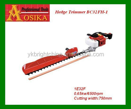 Manufacturer 22.5cc petrol hedge trimmer /handy / portable /motor scissories / 2 strok engine/ /single blade/ 23CC motor Hedge