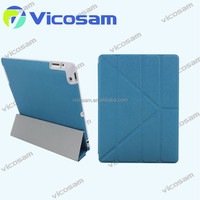 9.7' tablet PC accessory leather case for ipad air cover, for ipad cover flip case 5 colors