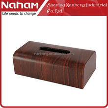 NAHAM Custom packaging travel storage holders paper facial tissue box for car