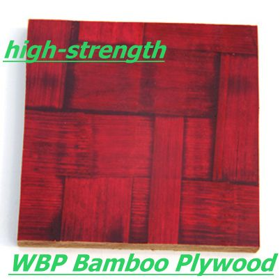 China 12mm Red Bamboo Plywood For