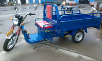 200w cargo tricycle with cabin /auto rickshaw price/ cargo bike