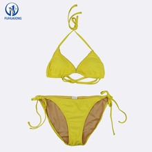 Bikini Set 2018 Yellow Sexy Girls Bathing Suit Swimwear Japanese Girl Swimsuit