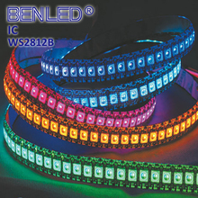 Upgraded SMD5050 WS2812 WS 2812B Pixel DC 5V 5M Digital Addressable Colorful RGB Flexible LED WS2812B IC Strip Tape