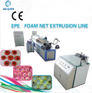 EPE Fruits Foam Net Extrusion Line Extruder