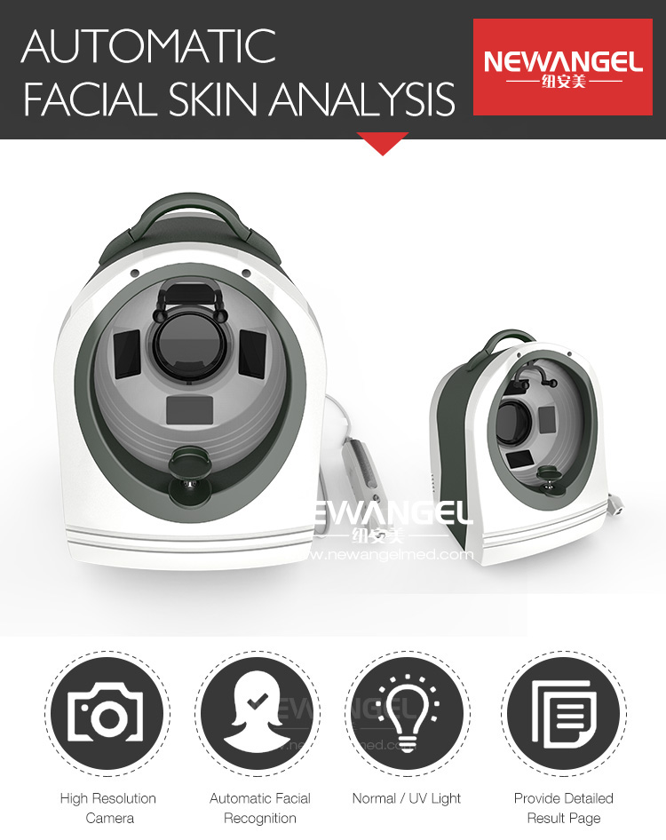 Skin health analyzer 3d magic mirror facial analysis