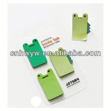 Fancy customed cartoon design sticky note/sticky pad