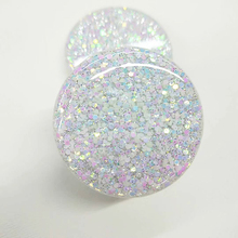 Easy Grip Mobile Phone Stand Gift Cosmetic Glitter Phone Holder Grip Sockets For Cell Phone
