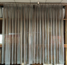 Hotel Window Treatment drapery and sheer made to measure pinch pleated style
