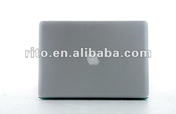 "Hot Matte Surface Gray Color Silicone Cover Case for Mac Air11"", Factory Price"
