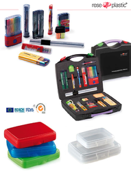 Waterproof durable tool set box kit plastic available with hanging loop