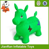 Colorful jumping horse,Inflatable toy ride on animals,PVC Jumping animal