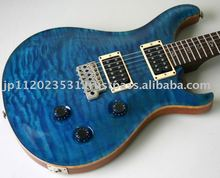 ONE-OFF Used Electric Guitar Paul Reed Smith PRS CUSTOM 24 QUILTED MAPLE 10TOP BIRD ROSEWOODNECK BLUE MATTEO
