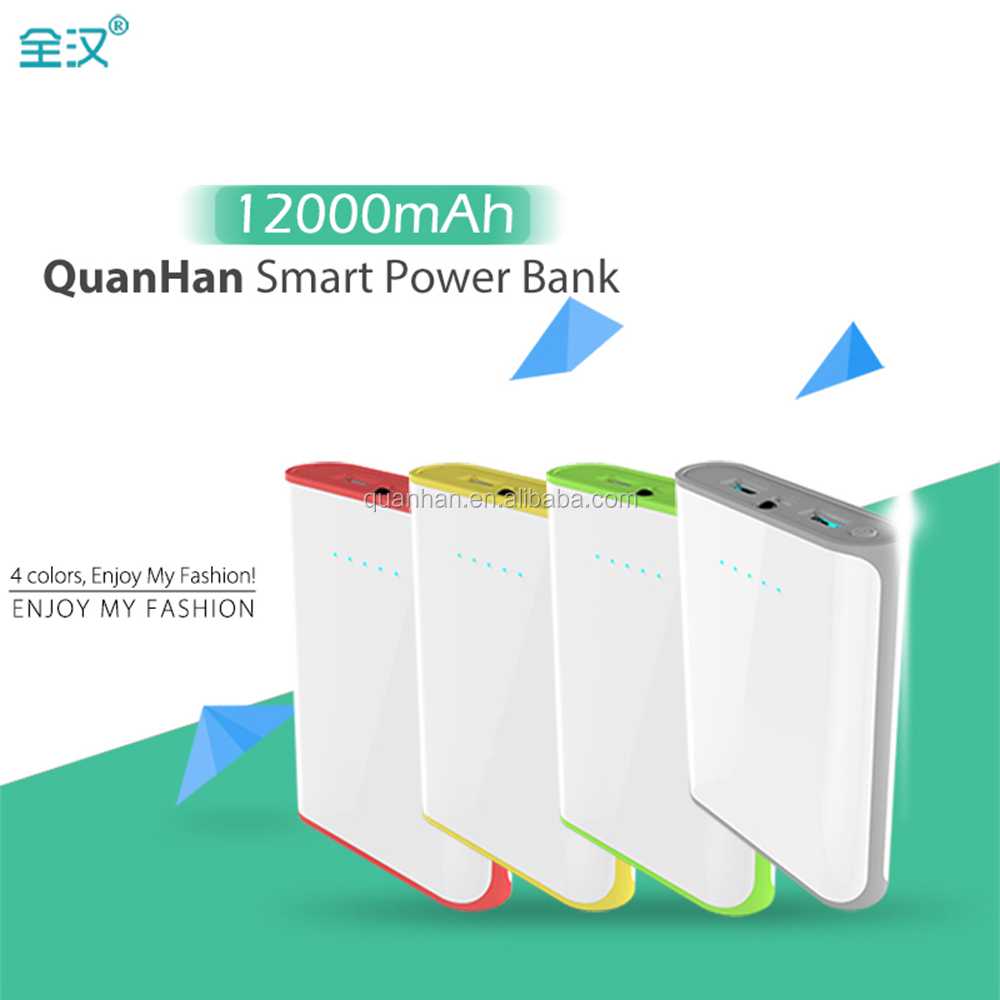 2017 powerbank portable charger external Battery 10000 mah mobile phone charger Power Bank
